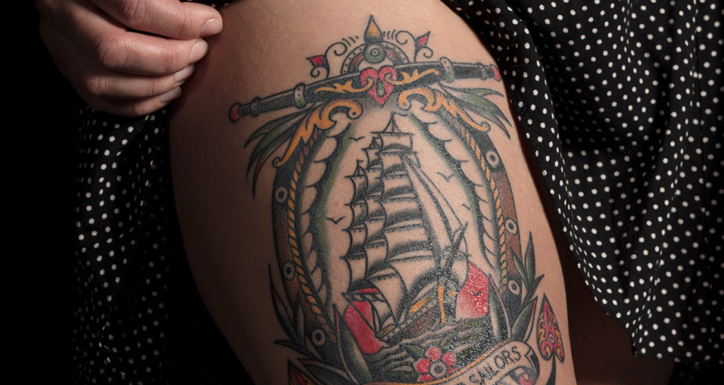 Tattoo British Tattoo Art Revealed at Chatham Historic Dockyard