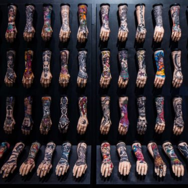 Tattoo British Tattoo Art Revealed 100 Hands exhibit Alice Snape