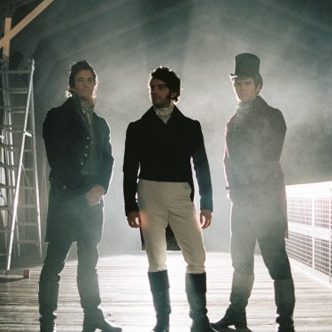 Anthony, Benedict and Colin Bridgerton cast in 3 Slip at The Historic Dockyard Chatham