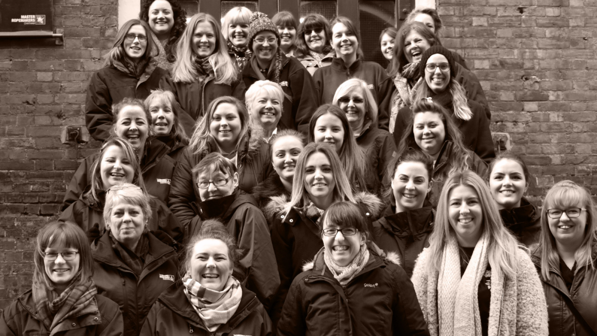 Group photo of female staff